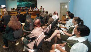 Câmara recebe a abertura da Semana de Meio Ambiente do município