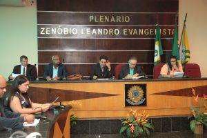 Câmara Municipal realiza a 33ª Sessão Ordinária