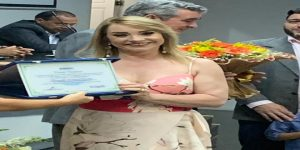 Título de Cidadã Eusebiense é concedido a Procuradora Geral da Câmara Municipal de Eusébio, Dra. Margareth Maria Sindeuax Baratta Monteiro