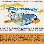 CAMPANHA DE ARRECADAÇÃO DE CESTAS BÁSICAS