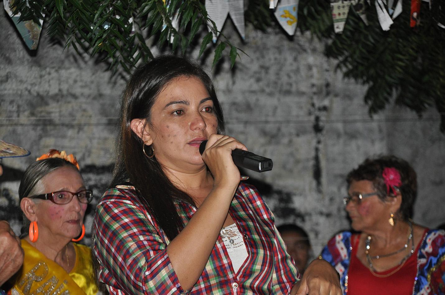 Vereadora Neila Participa de São João da Casa do Idoso (Tamatanduba)