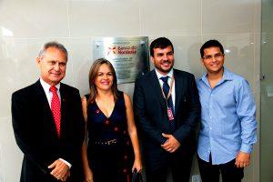 Vereadores prestigiam inauguração da agência do BNB de Eusébio
