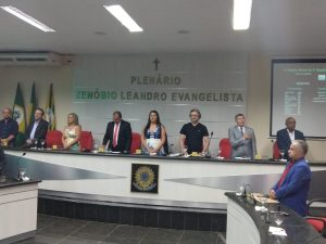 Câmara Municipal retoma seus trabalhos com presença do Prefeito