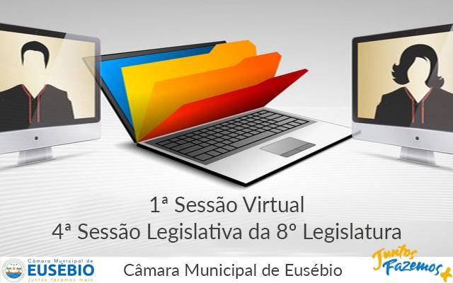 1ª Sessão Virtual da 4ª Sessão Legislativa da 8ª Legislatura