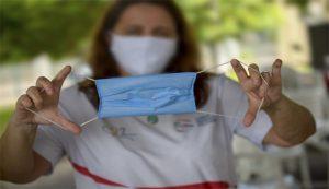 A partir desta quarta passa a ser obrigatório o uso de máscara de proteção para transitar pelas vias de Eusébio