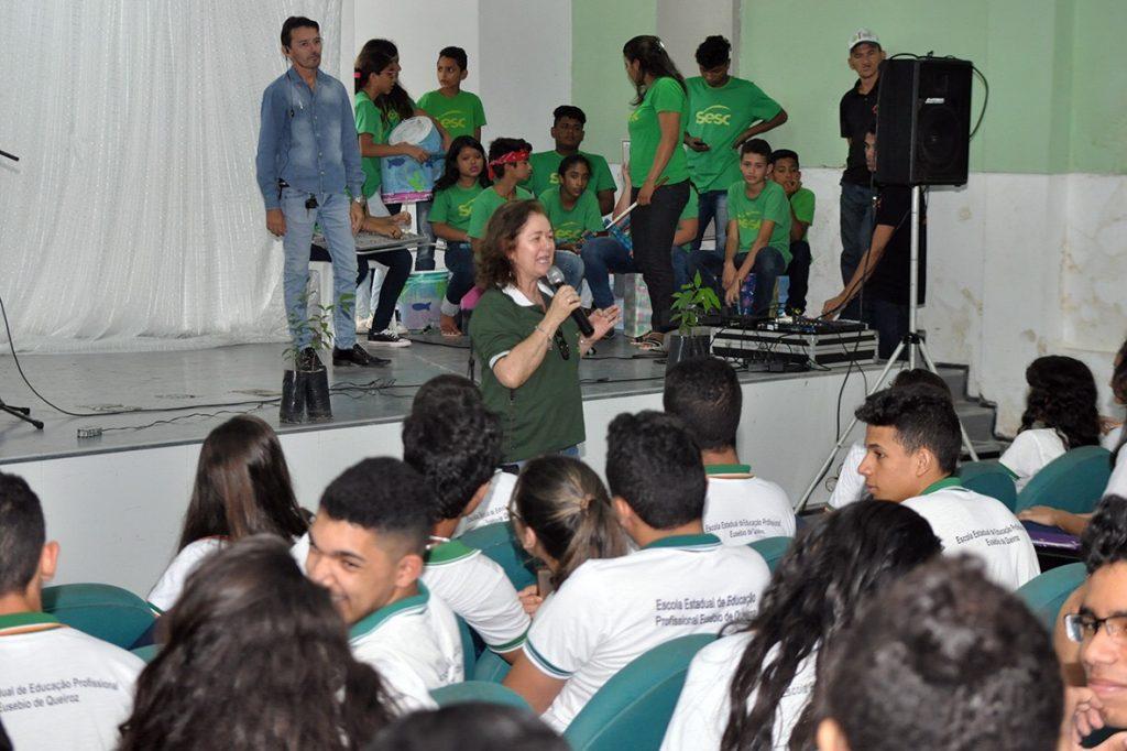 Educação Ambiental é setor estratégico dentro da Política Ambiental em Eusébio